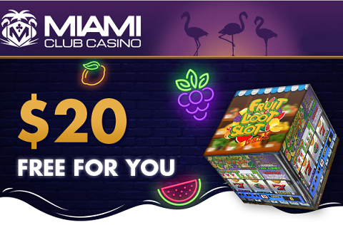 Happy New Year from Miami Club Casino! Claim your monthly