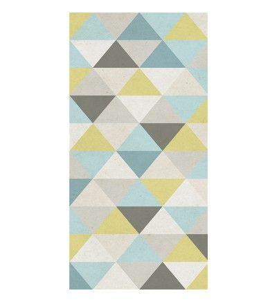 Papier peint intissé triangle SCANDINAVE Pinterest Cell phone