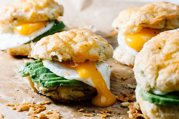 Cheddar and Green Onion Biscuit | 17 Delicious Breakfast Sandwiches Worth Waking Up For