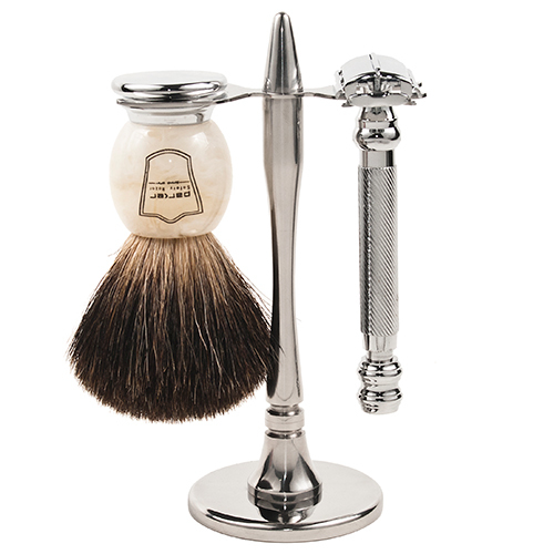 Parker 99R Heavyweight Butterfly Razor & Deluxe Black