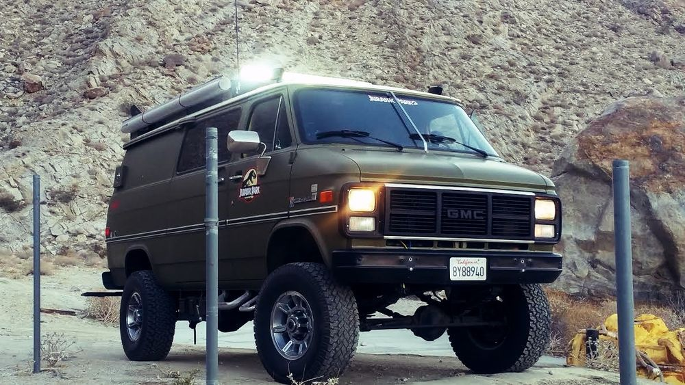 1985 Gmc Vandura 3500 1 Ton Factory Pathfinder 4x4 Special Vehicle Chevy Van Classic Gmc Van