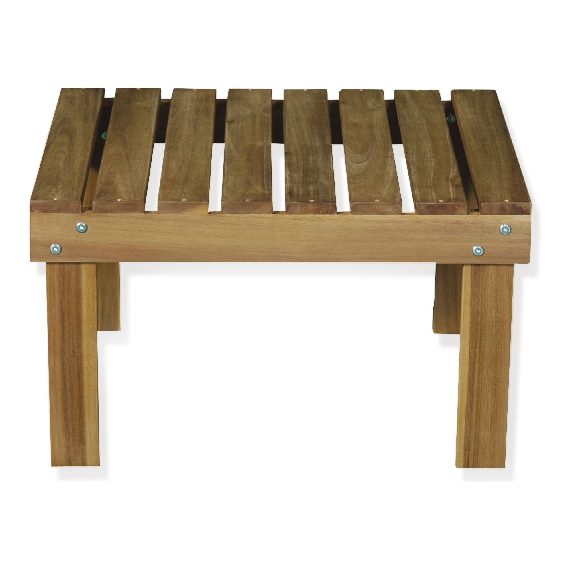 Table basse de jardin en acacia huilé - Bergonce - Tables basses de ...