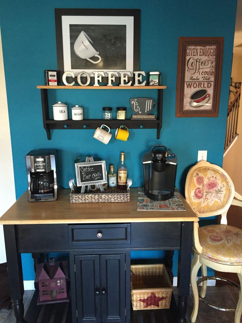 My coffee bar❤ | Gimmie Coffee | Pinterest | Coffee, Bar and ...