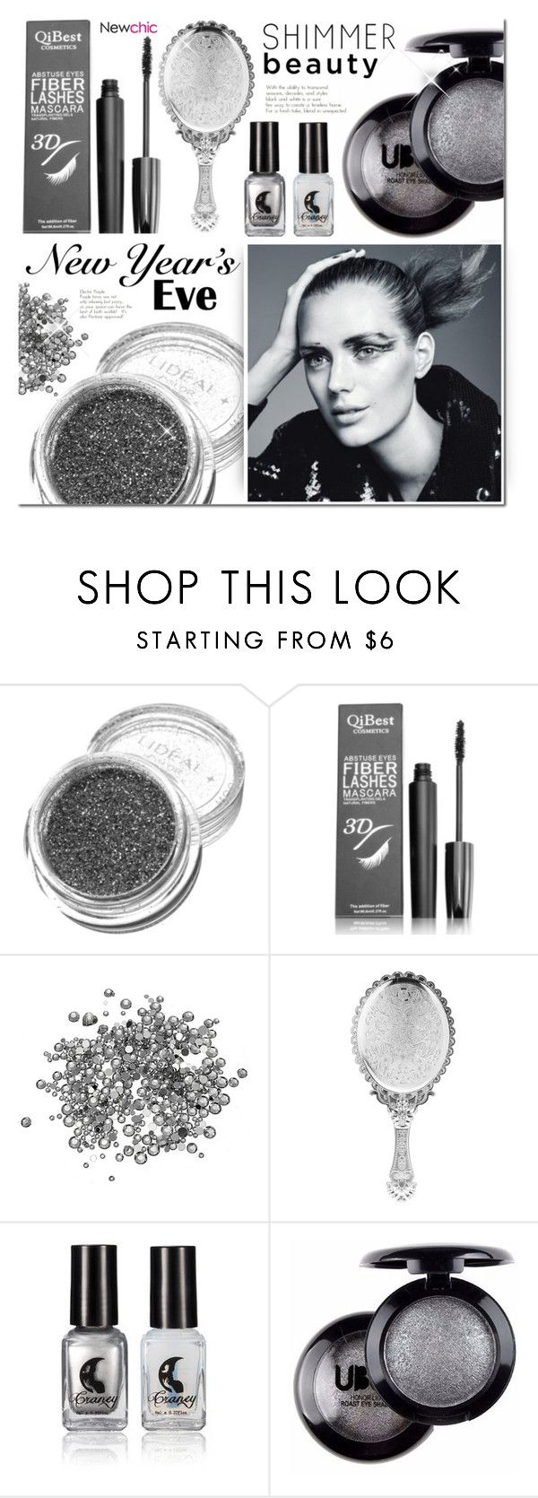 """""""NEWCHIC NYE Beauty"""" by mada-malureanu ❤ liked on Polyvore featuring beauty, lovenewchic and nyebeauty"""