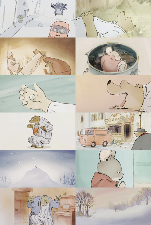 Ernest And Celestine 2012 Ilustraciones Personajes Animados Animacion