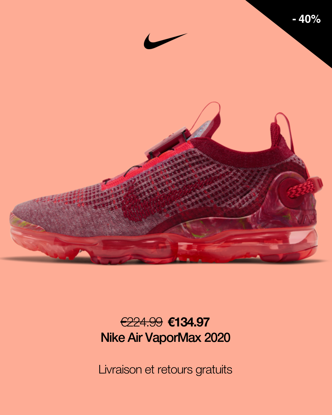 Chaussure Nike Air VaporMax 2020 Flyknit pour Homme. Nike FR in ...