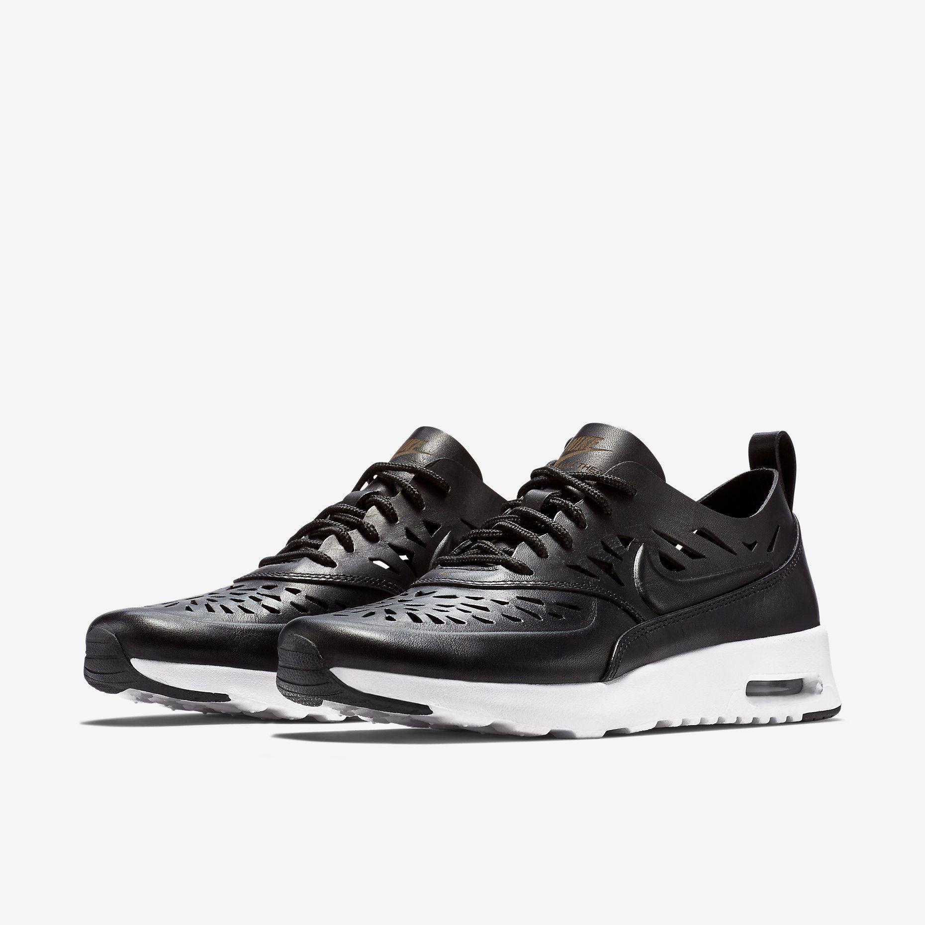 Nike Air Max Thea Magasin Noir Joli Et Blanc