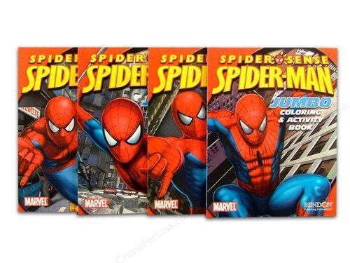 Marvel The Amazing Spiderman Coloring And Activity Book 4pcs Spiderman Activity Books By Bendon 11 48 Coloring Books Spiderman Coloring Color Activities