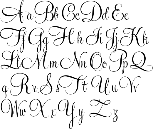 Feel Script | Fun Alphabets & Fonts | Pinterest | Brush lettering ...