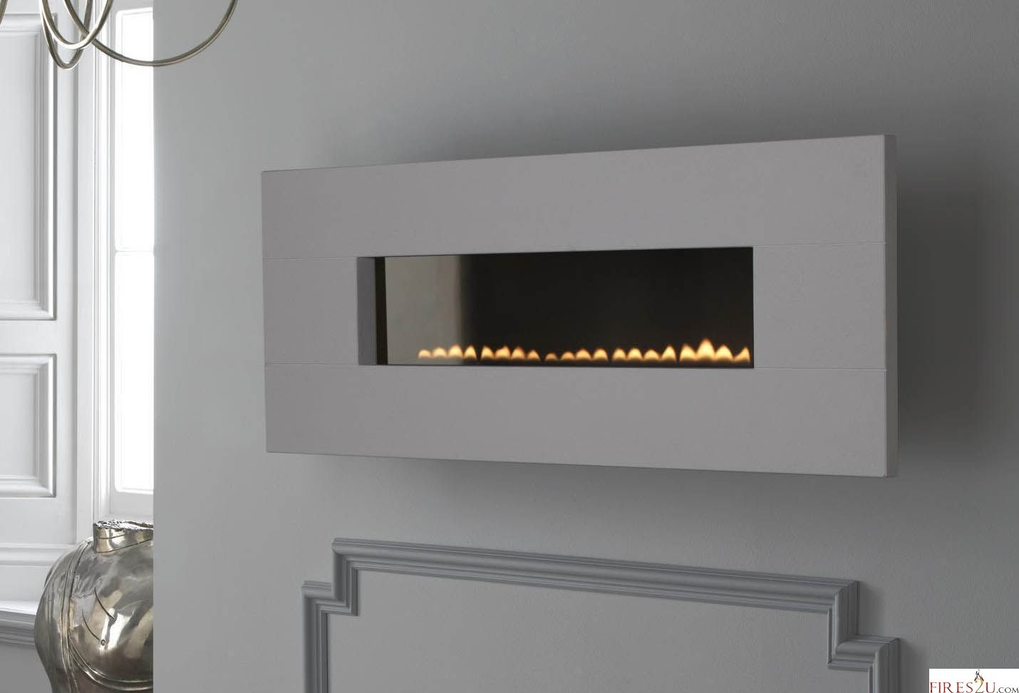 Gas fire wall mounted flueless bottomunion pinterest