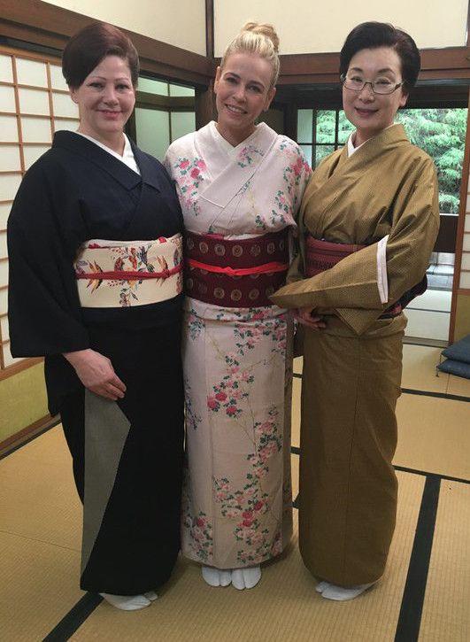 Chelsea Handler in Japan