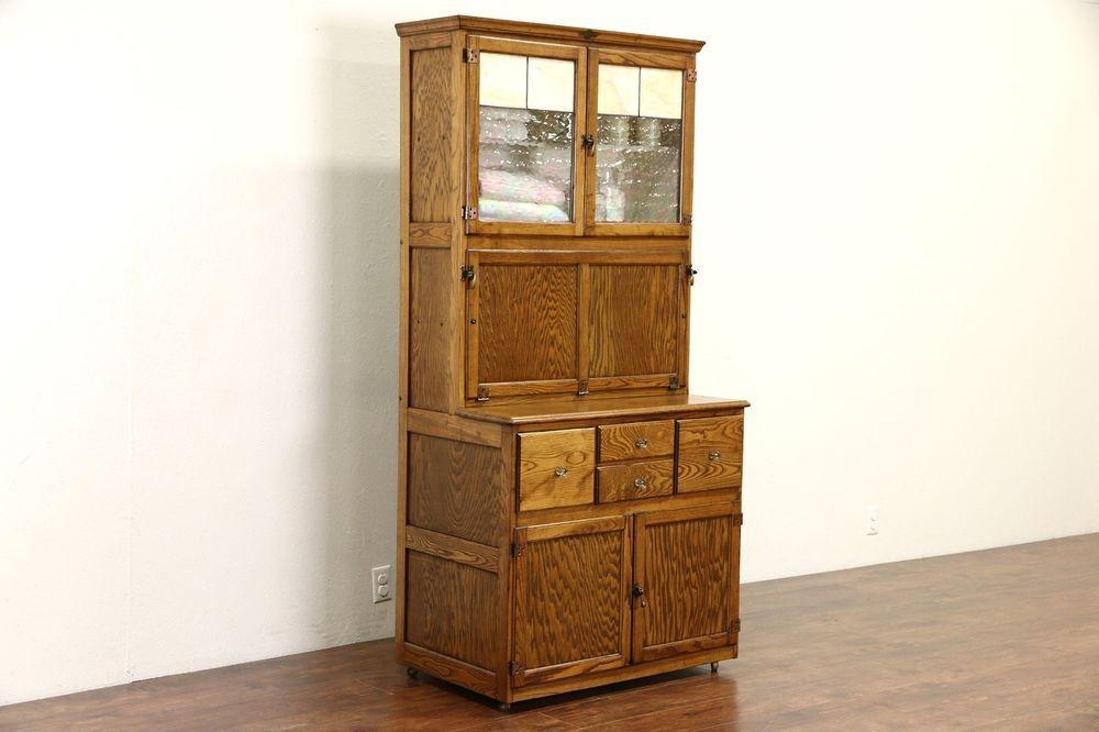 Hygena English 1930 S Oak Vintage Hoosier Kitchen Cupboard Or Physician Cabinet Hoosier Cabinet Cottage Style Furniture Vintage Kitchen Cabinets