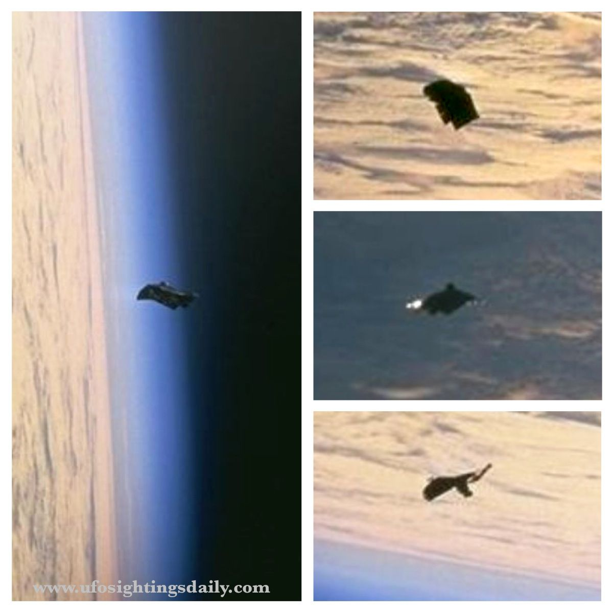 Photo of UFO Sighting Photos leaked out of NASA-Johnson Space Center, 100% clear UFOs In High Detail.