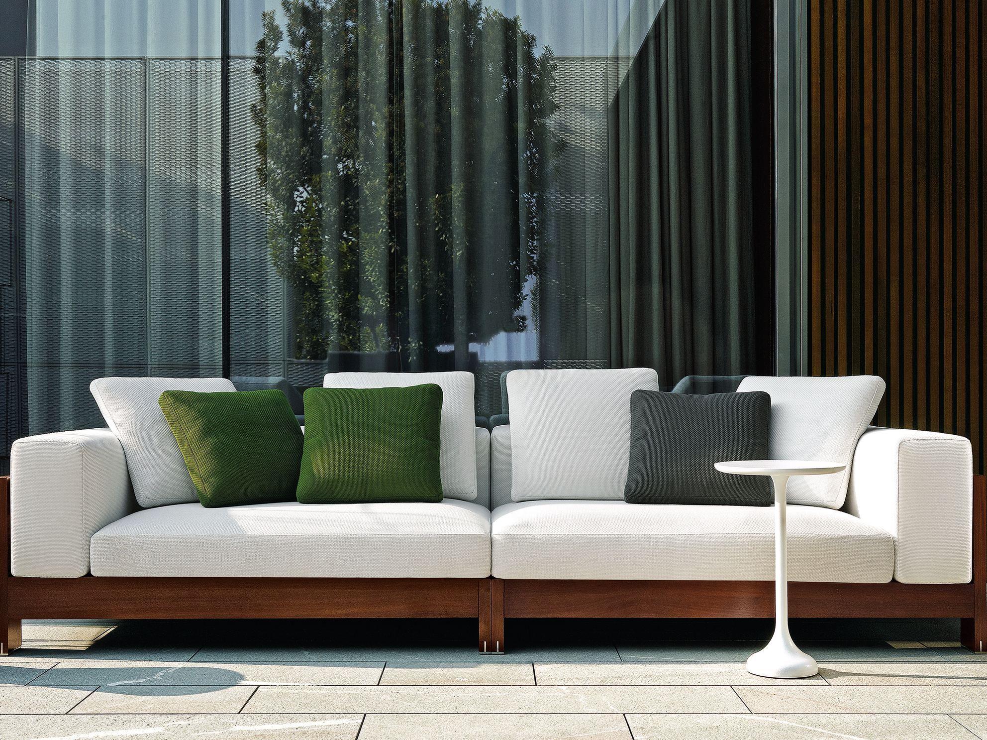 Minotti outdoor sofa design deco architecture mobilier de salon balcon et agencement interieur - Meubles minotti ...