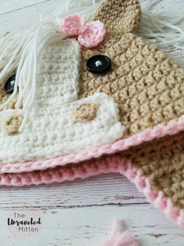 The Callie Horse Hat Free Crochet Pattern In 2018 American Girl