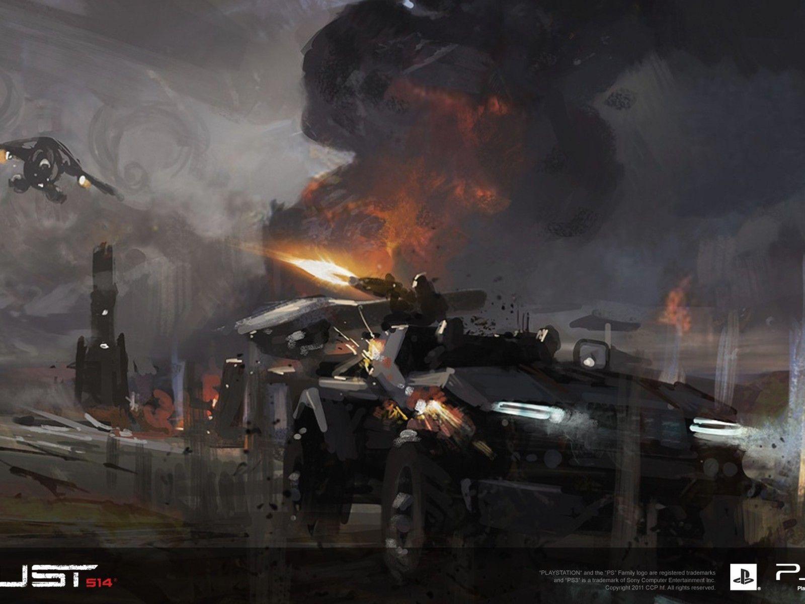 Concept Art Games Wallpaper