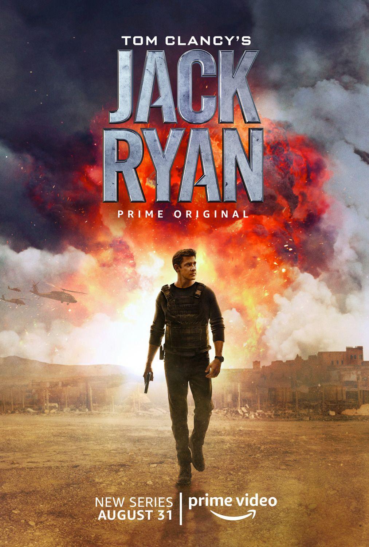 Tom Clancy S Jack Ryan Poster De Peliculas Tom Clancy Peliculas