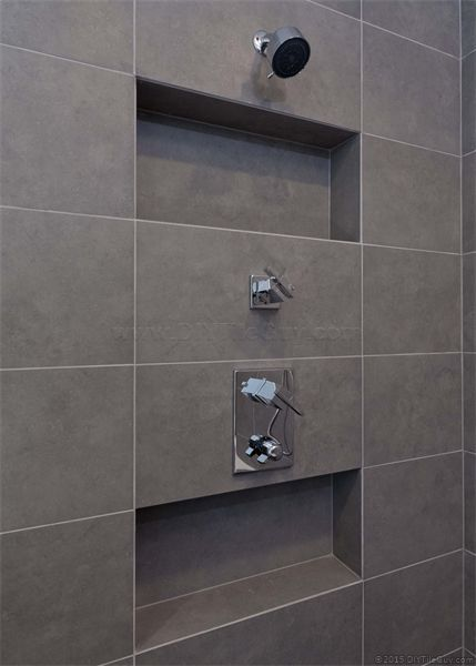 A Recessed Shampoo Niche In An Exterior Wall With Images Tile