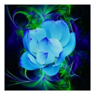 Blue lotus flower and its meaning posters shades of blue 6 blue lotus flower and its meaning posters mightylinksfo