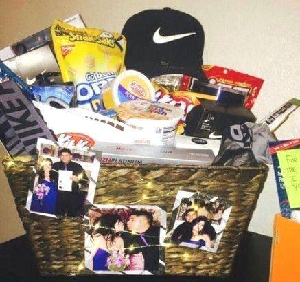 Gifts Baskets For Him Boyfriends Valentines Day 68 Ideas