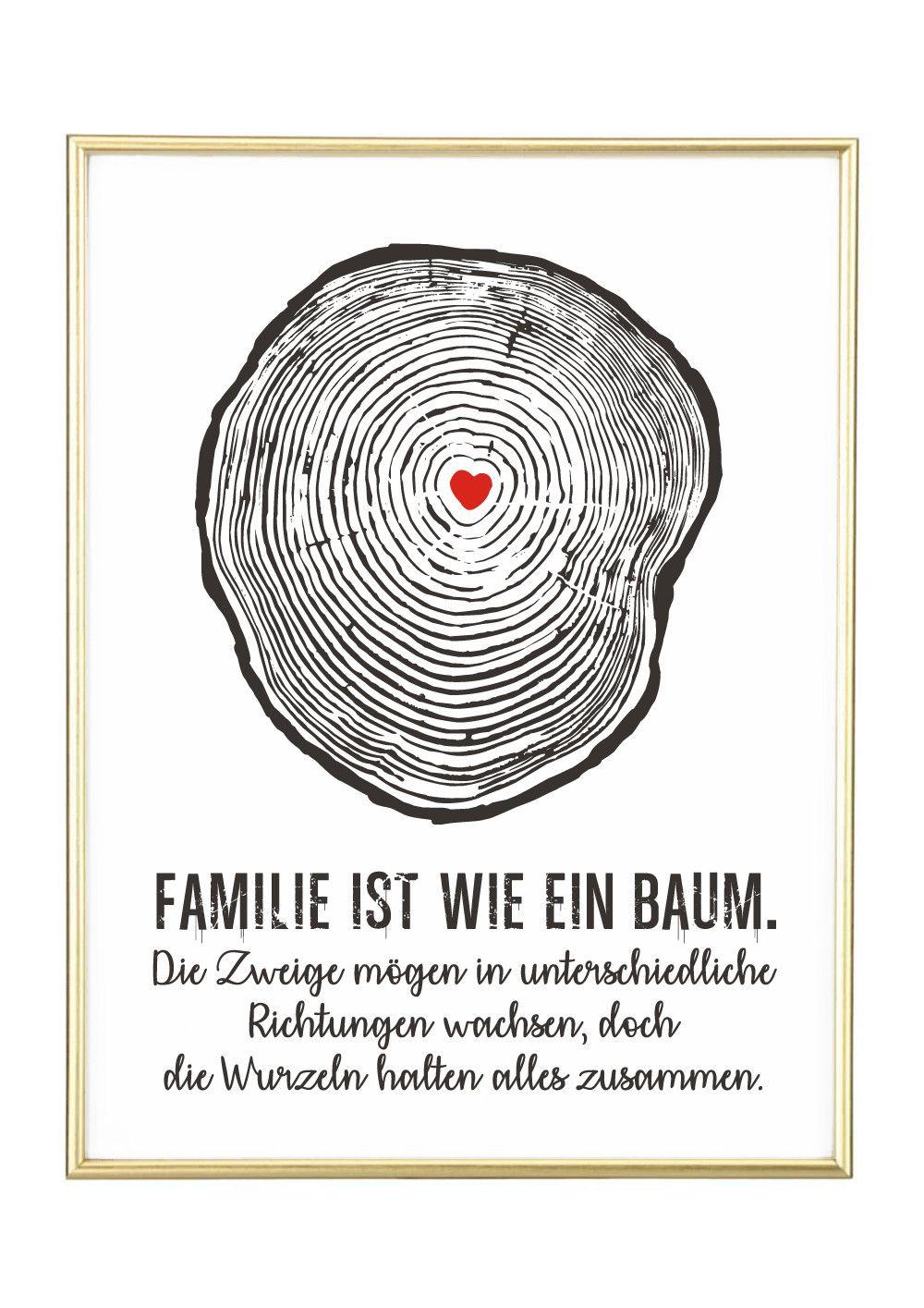 Digitaldruck Baum Kunstdruck Poster Geschenk Ein Designerstuck Von Jolanswelt Bei Dawanda Poster Spruche Weisheiten Spruche Nachdenkliche Spruche