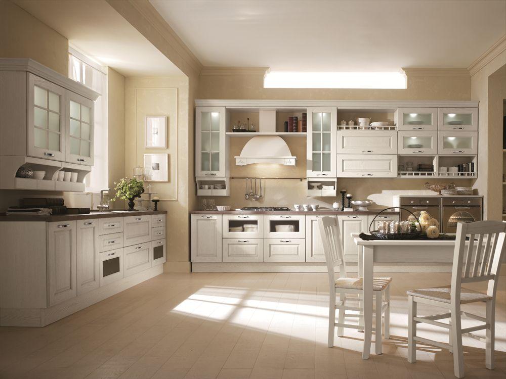 arredamento #cucina gusto classico rustico: elena | cucine in ... - Arredamento Classico Rustico