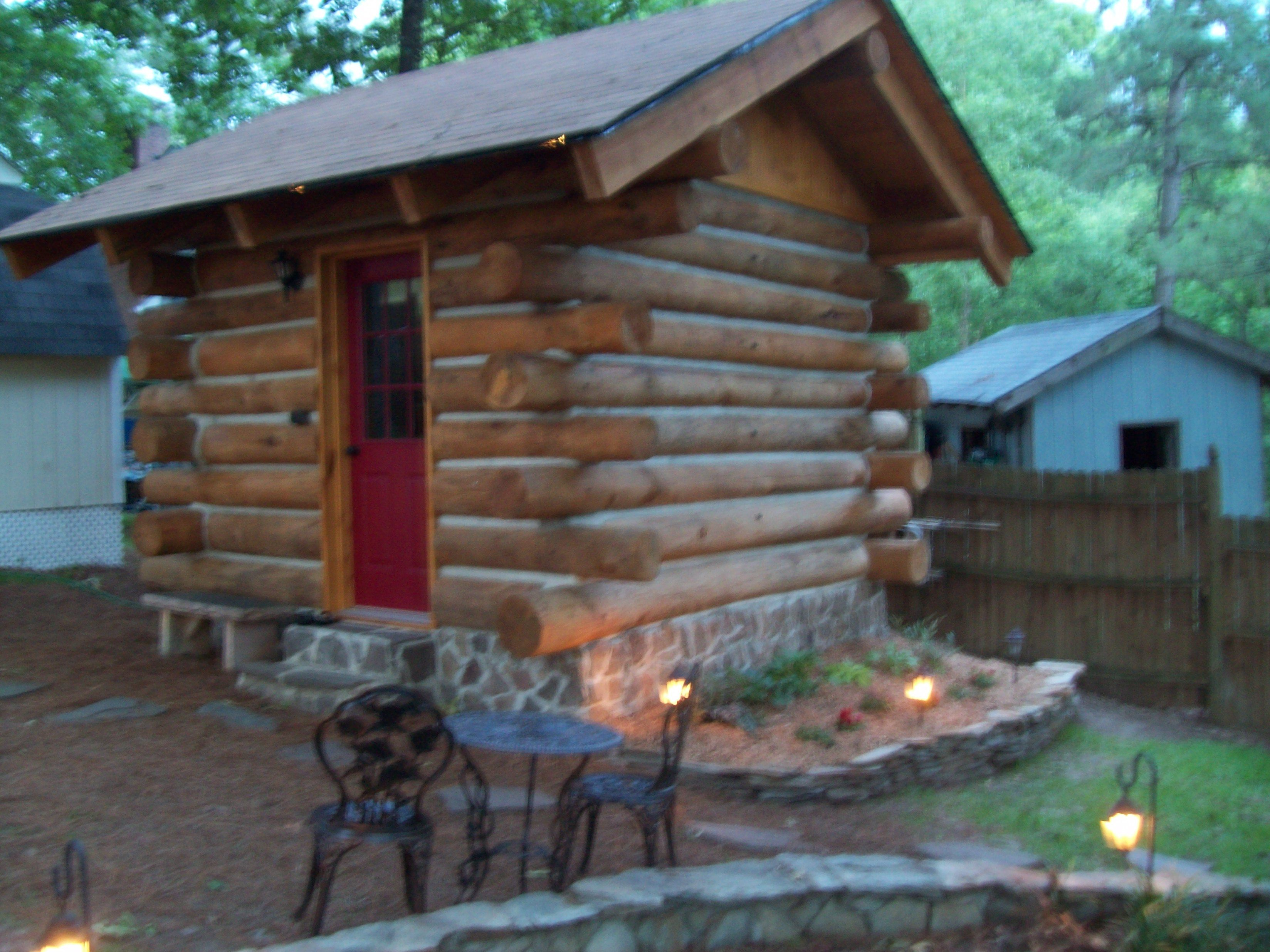 Superbe This Is Our Log Cabin Shed That We Built