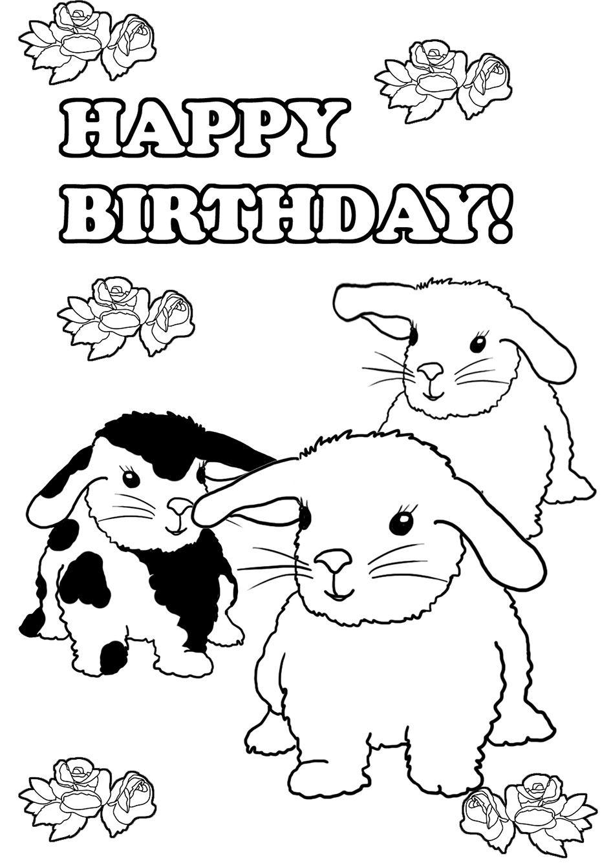 Birthday Coloring Pages Verjaardag Zus Kleurplaten Verjaardag