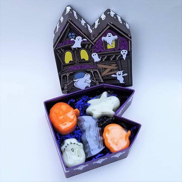 Handmade Soap Set Ghost Mansion (Goat Milk Base) Welcome