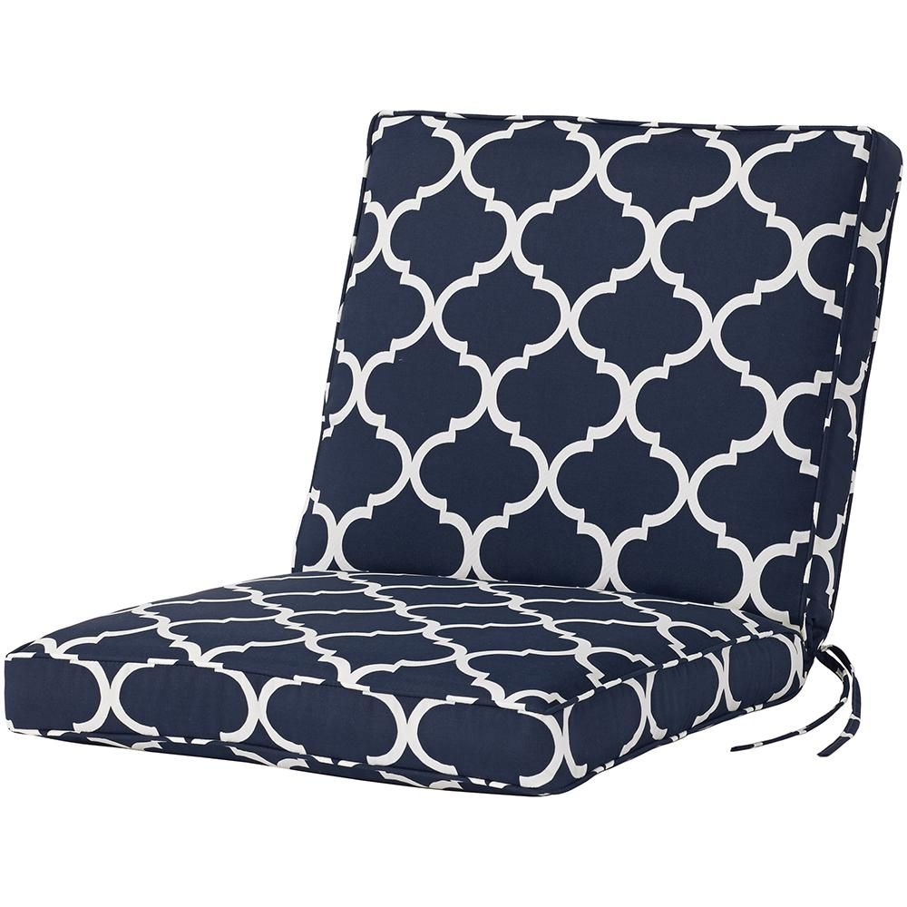 Home Decorators Collection Halina Wasabi Outdoor Dining Chair Cushion