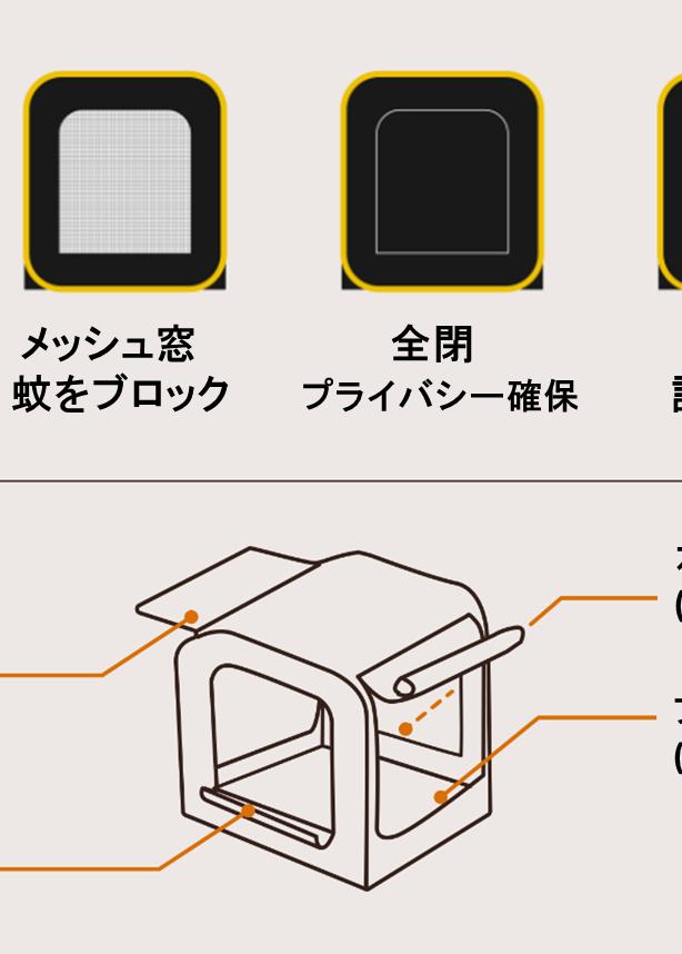 Carsule カースル が遂に日本上陸 車に連結できるポップアップテント テント ポップアップテント 川遊び
