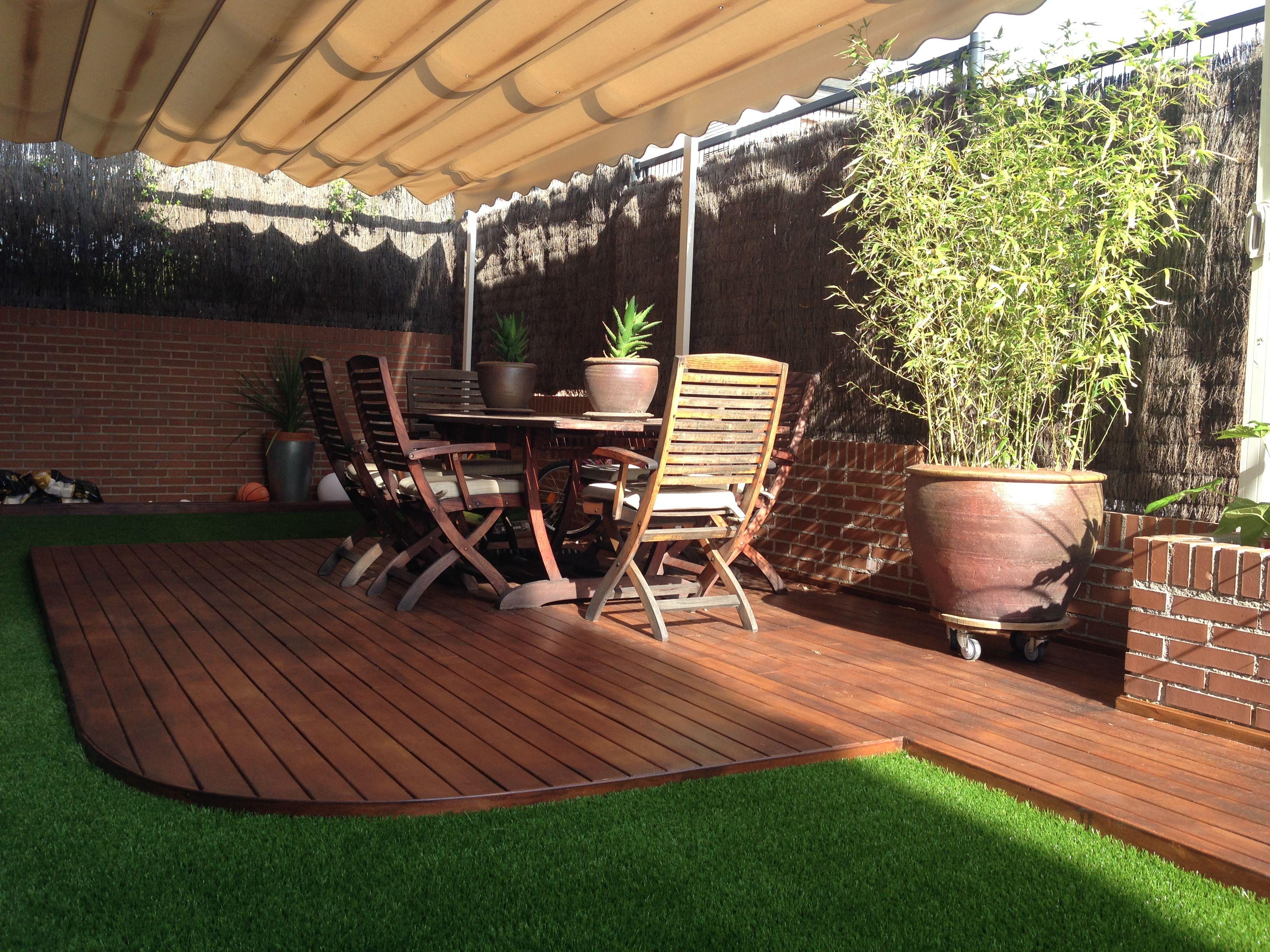 Pin de katherine espa a en house 39 s en 2019 terrazas for Diseno de patios y terrazas