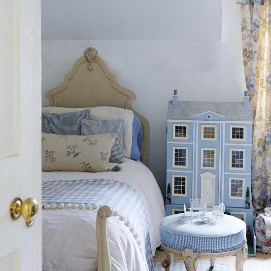 Kinderzimmer wohnideen m bel dekoration decoration living idea interiors home nursery kinder - Kinderbett landhausstil ...