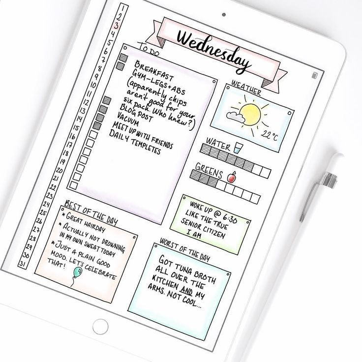 Risultati immagini per daily log bullet journal pinterest
