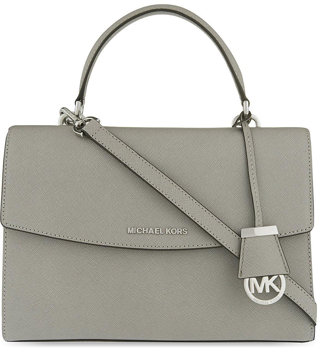 63087a540743 MICHAEL MICHAEL KORS Ava medium Saffiano leather satchel | Products ...