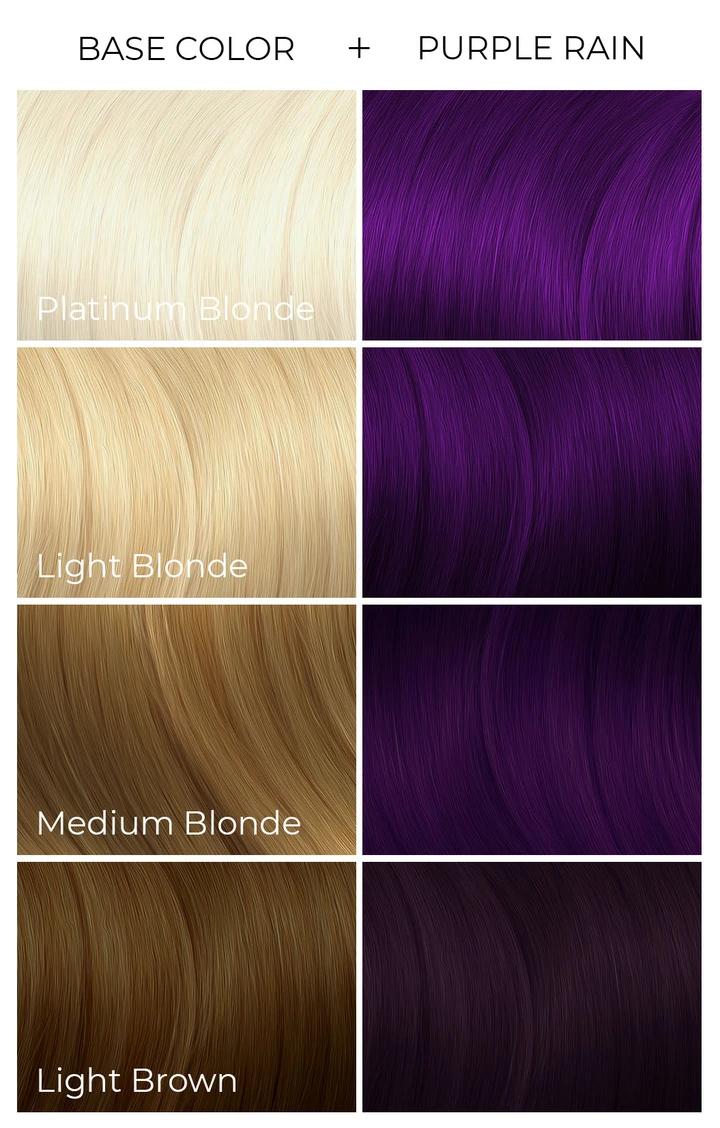 Purple Rain In 2020 Arctic Fox Hair Color Arctic Fox Hair Dye Fox Hair Dye