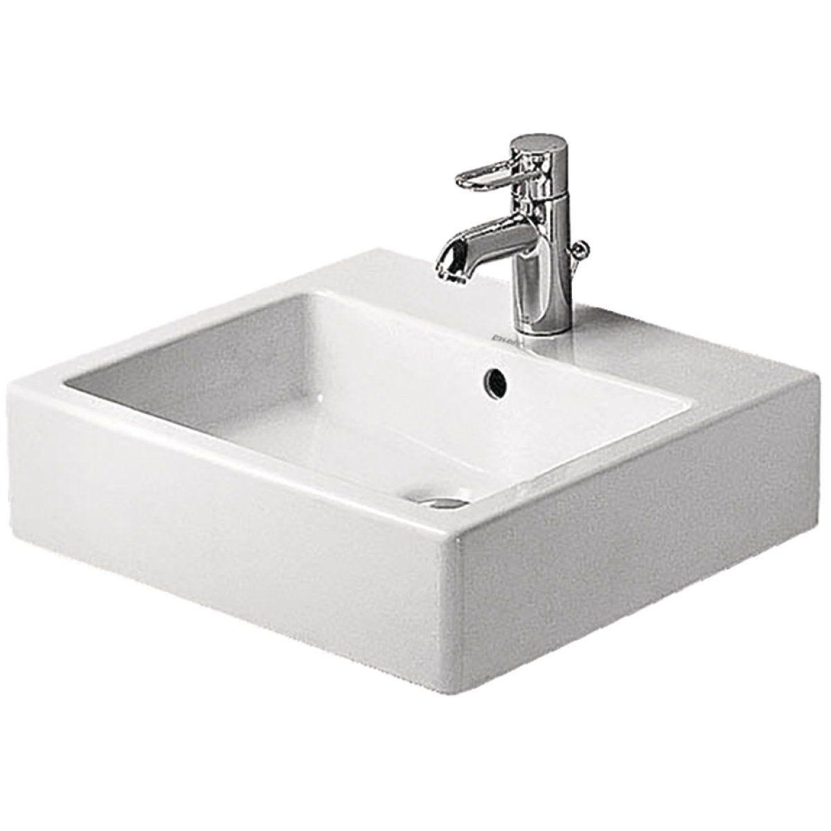 Lavabo 50 vero blanc 04545000001 - DURAVIT - null   Chalet Main ...