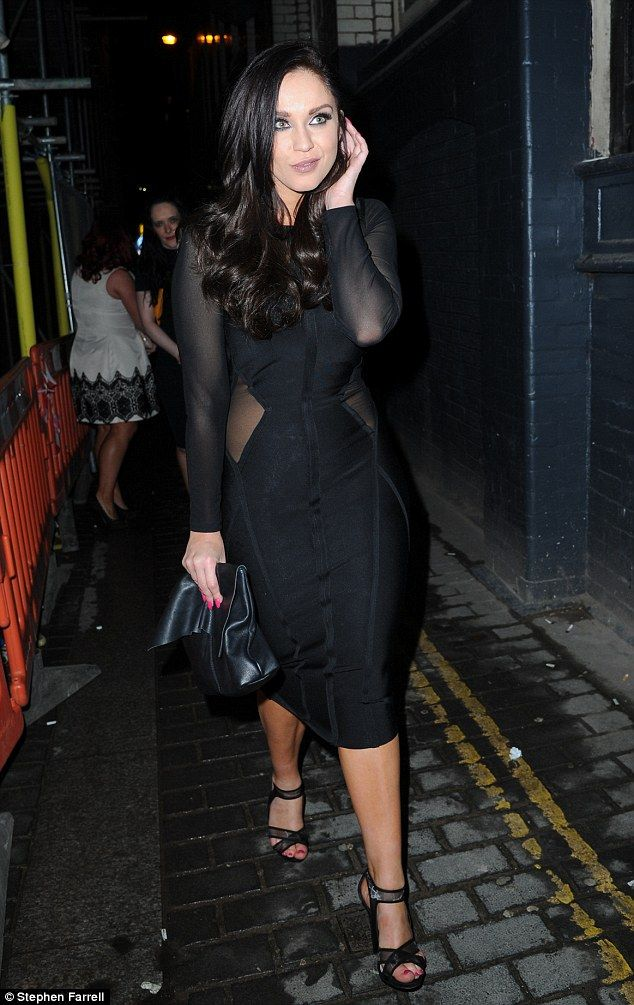 Wearing her hair in a coiffed side-parting, the Geordie Shore star enjoyed something of a ...