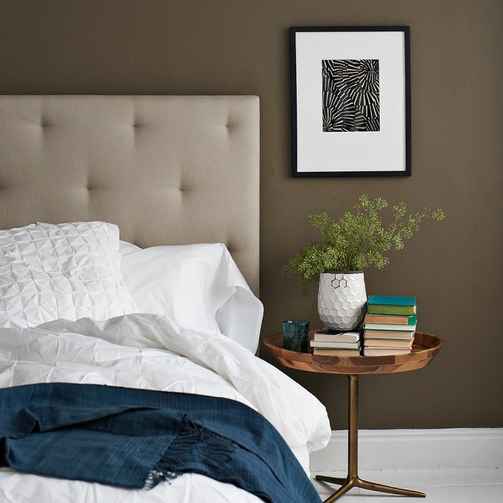 Dark Taupe Is Gorg For A Bedroom