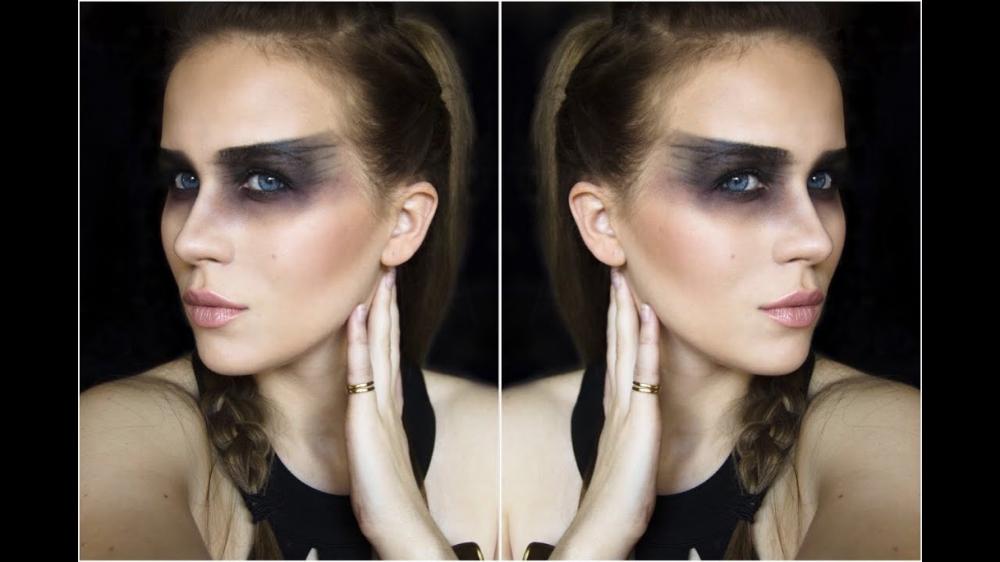make up Mad max fury, Halloween tutorial, Maybelline