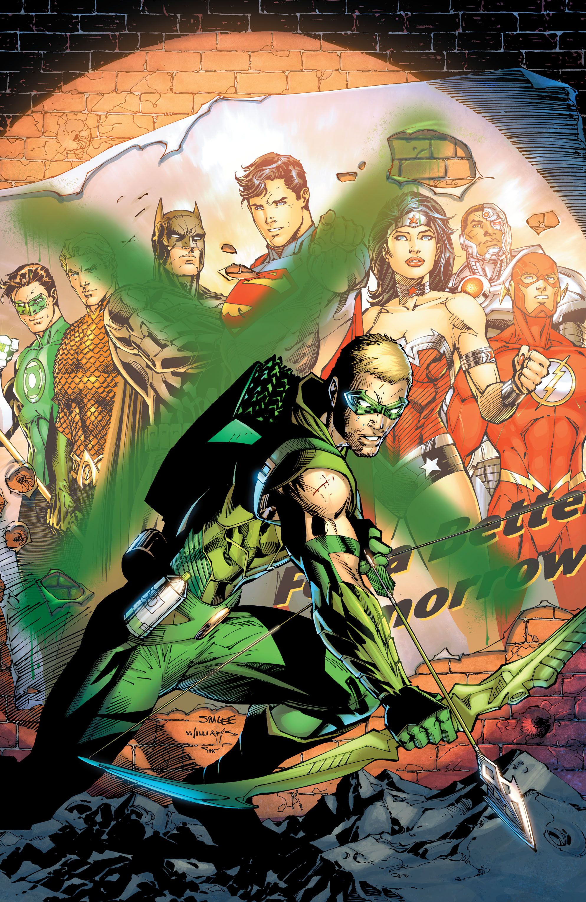 Green Arrow by Jim Lee