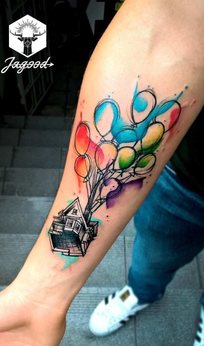 Photo of Watercolor Tattoos Will Turn Your Body into a Living Canvas