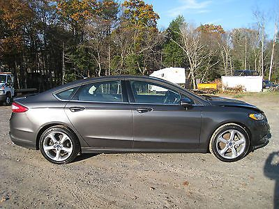 Ebay 2017 Ford Fusion Se 2 5l Sedan Only 11k Loaded Salvage Repairable Project Carparts Carrepair Usdeals Rssdata