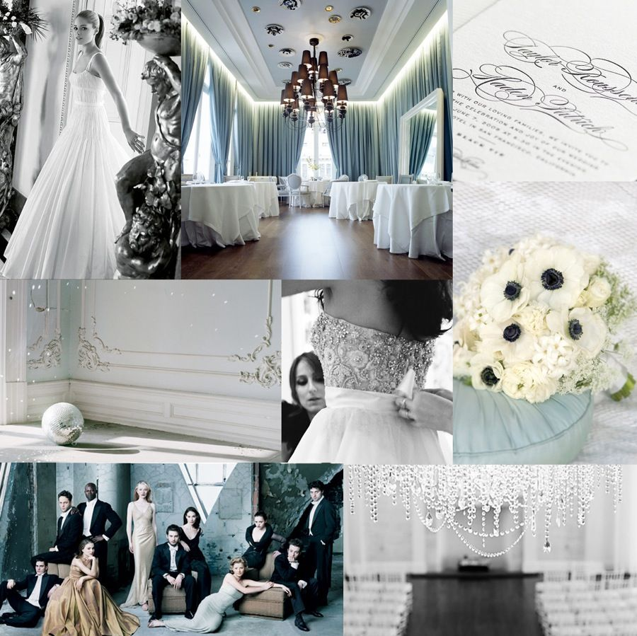 Another wedding theme idea i love black u white with subtle hints