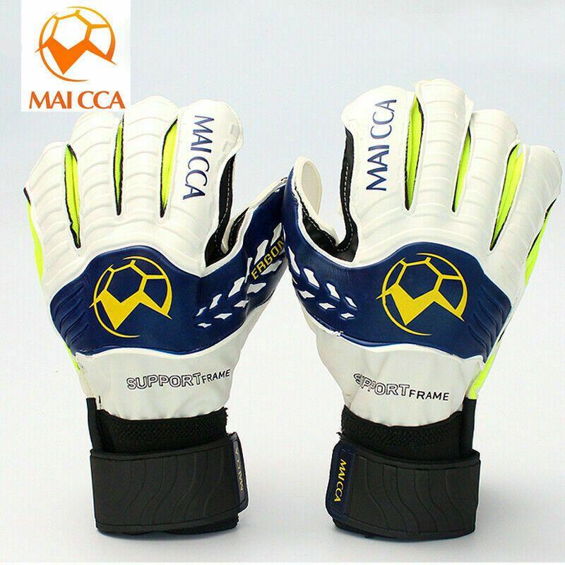 Pin On Professional Soccer Goalie Gloves Latex Size 8 9 10 Adult Football Goalkeeper