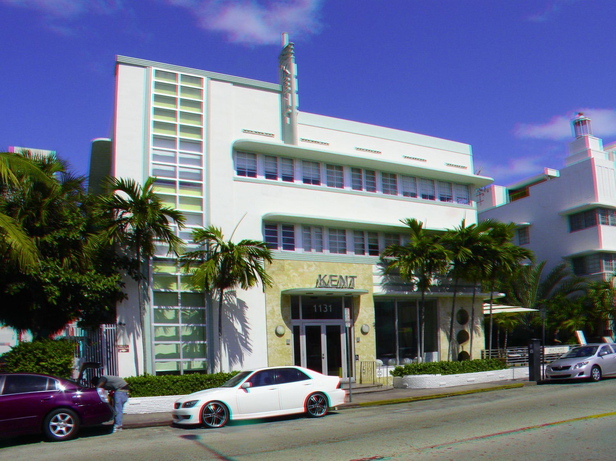 1131 Collins Avenue The Kent Hotel Built 1939 Architect L Murray Dixon Style Art Deco