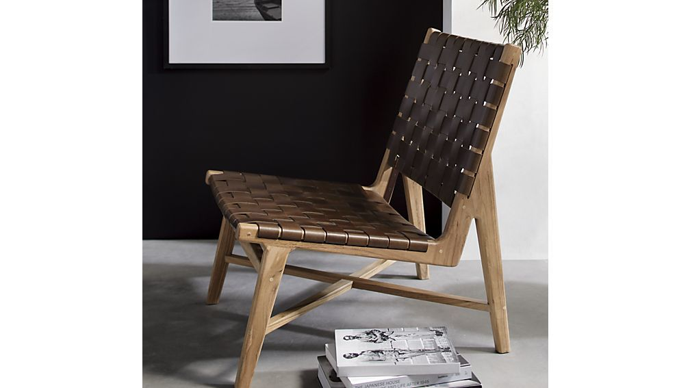 Park Art|My WordPress Blog_Leather Strap Chair Crate And Barrel
