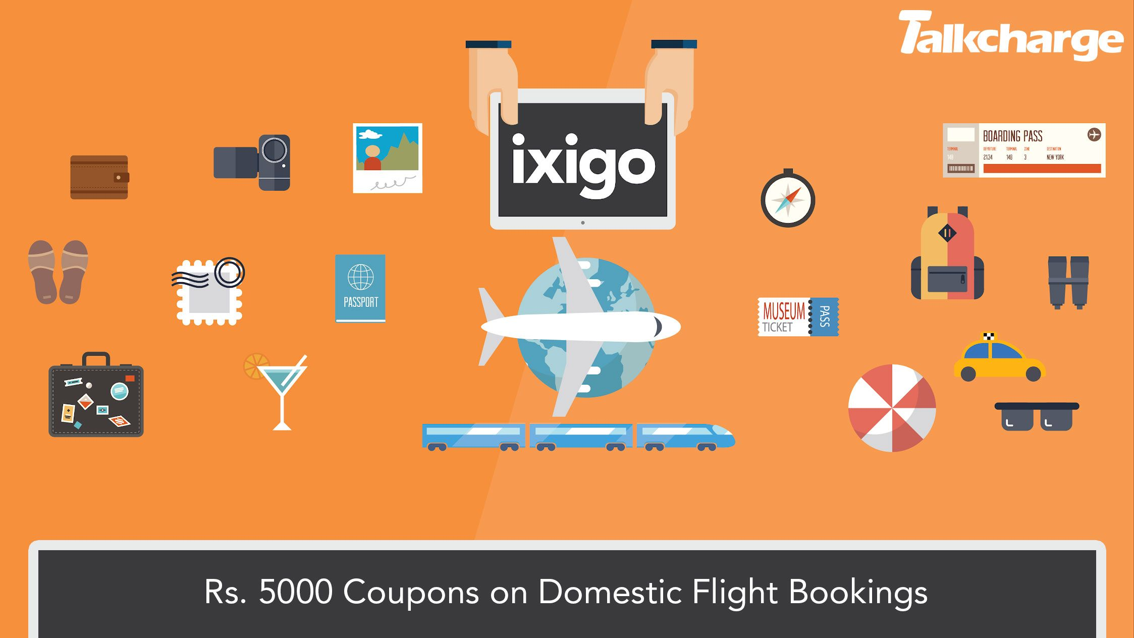 Booking a flight with Ixigo and get heavy discount
