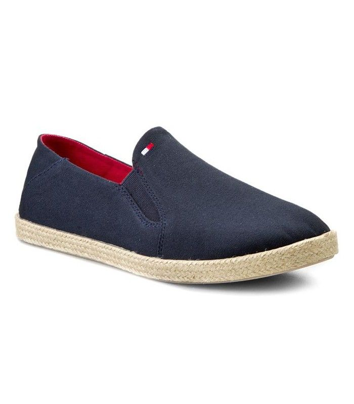 7a4b8efaa04 Zapato tipo lona de tela para hombre de Tommy Hilfiger