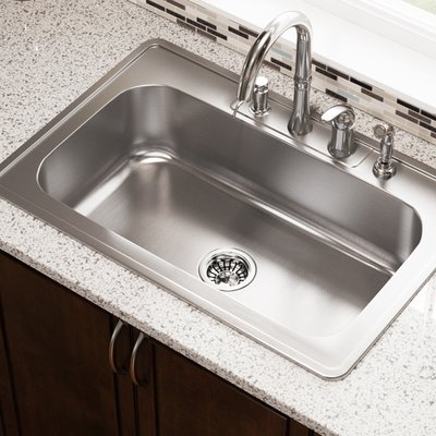 Mrdirect Stainless Steel 33 X 22 Drop In Kitchen Sink Drop In Kitchen Sink Stainless Steel Kitchen Sink Single Bowl Kitchen Sink 33 x 22 kitchen sink single bowl